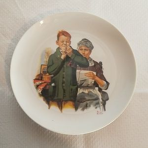 Vintage Norman Rockwell Collectors Plate